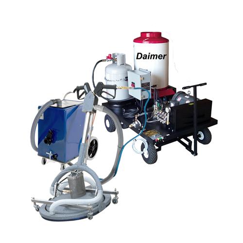 Propane Powered Hard Surface Cleaning Machines Daimer